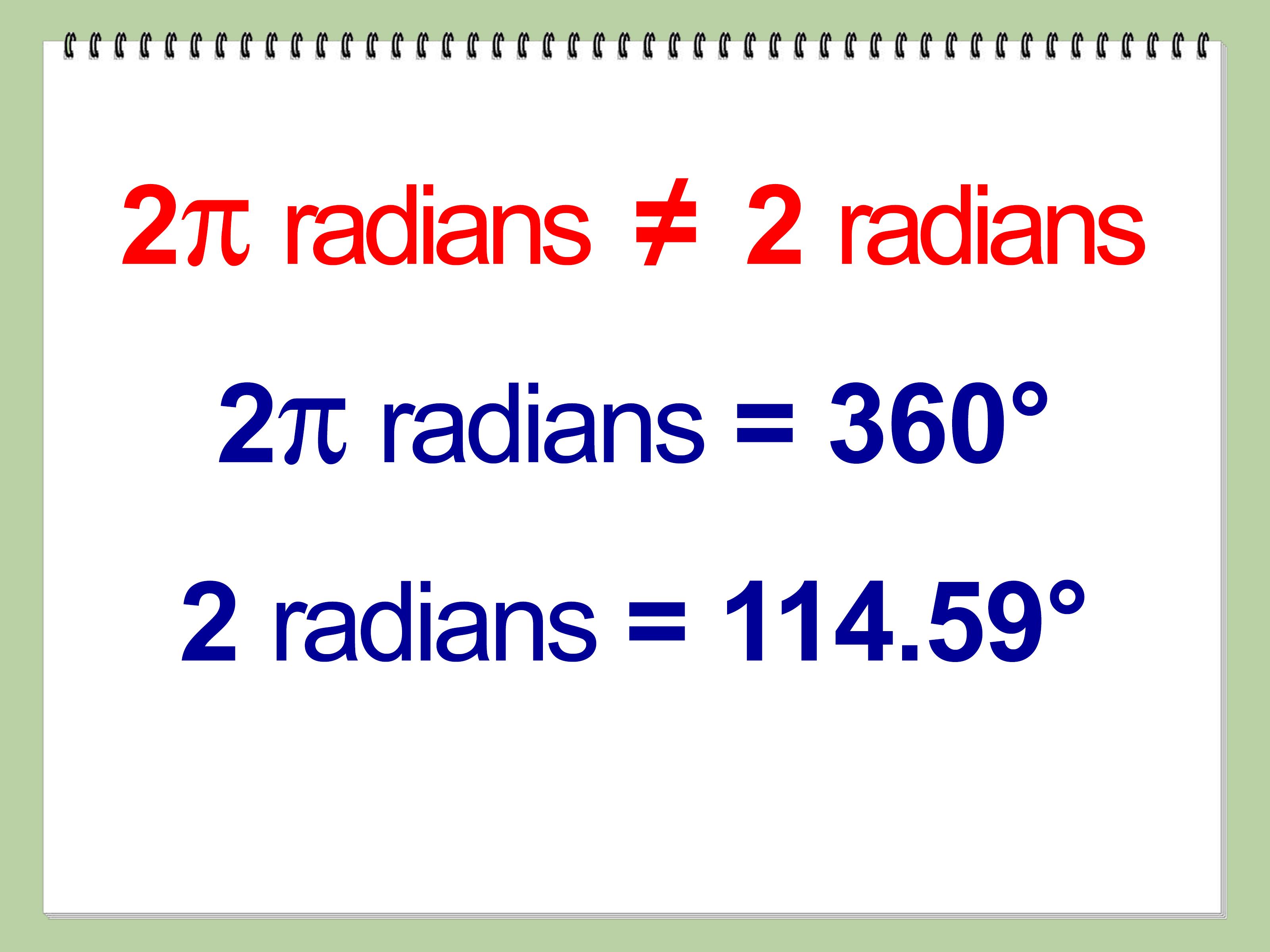 Ba Degree Convert Degrees To Radians