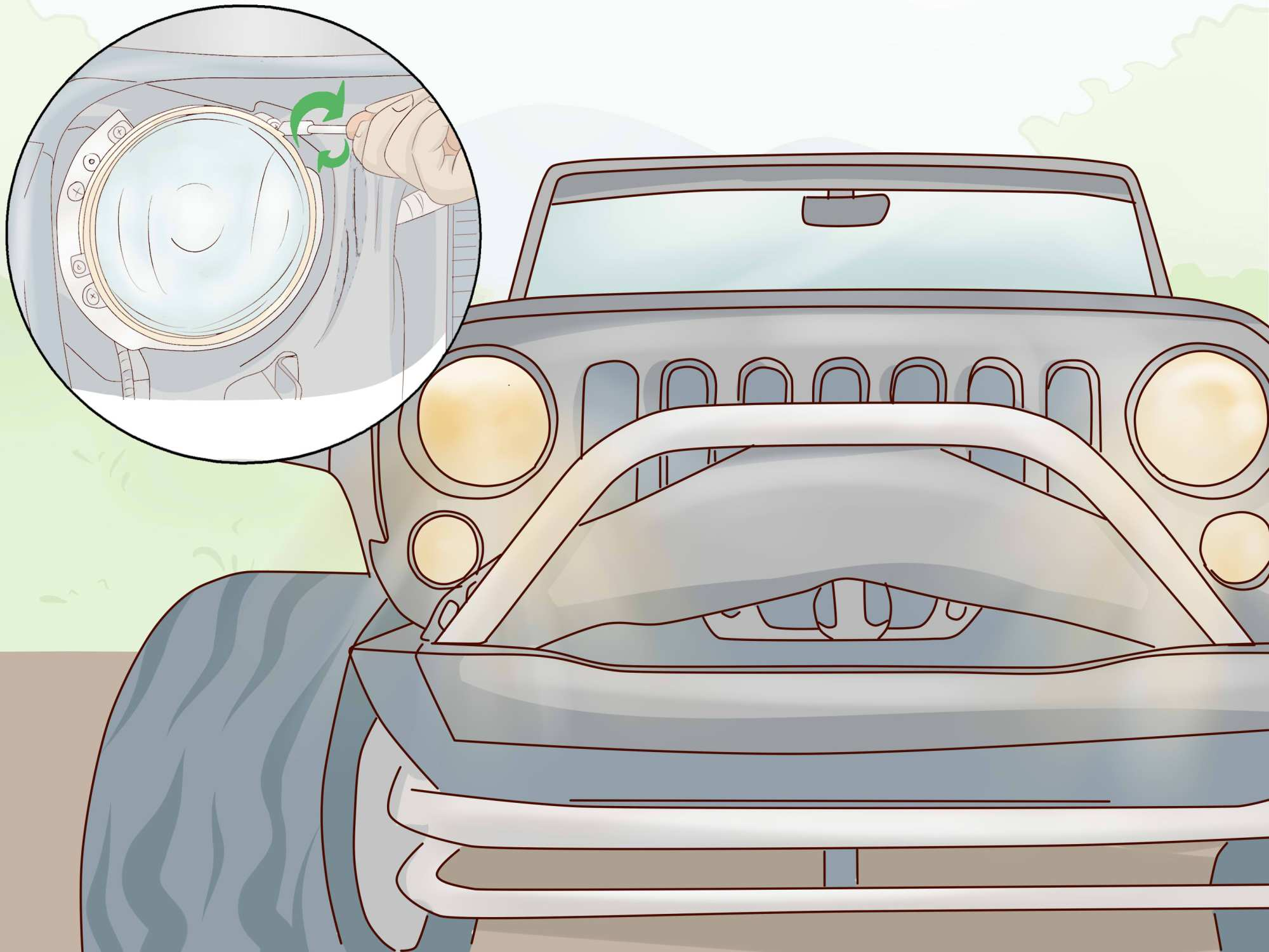 hight resolution of how to fix a burned out headlight