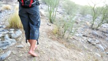 Barefoot Hiking Appalachian Trail