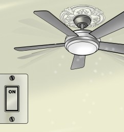 how to replace a ceiling fan [ 3200 x 2400 Pixel ]