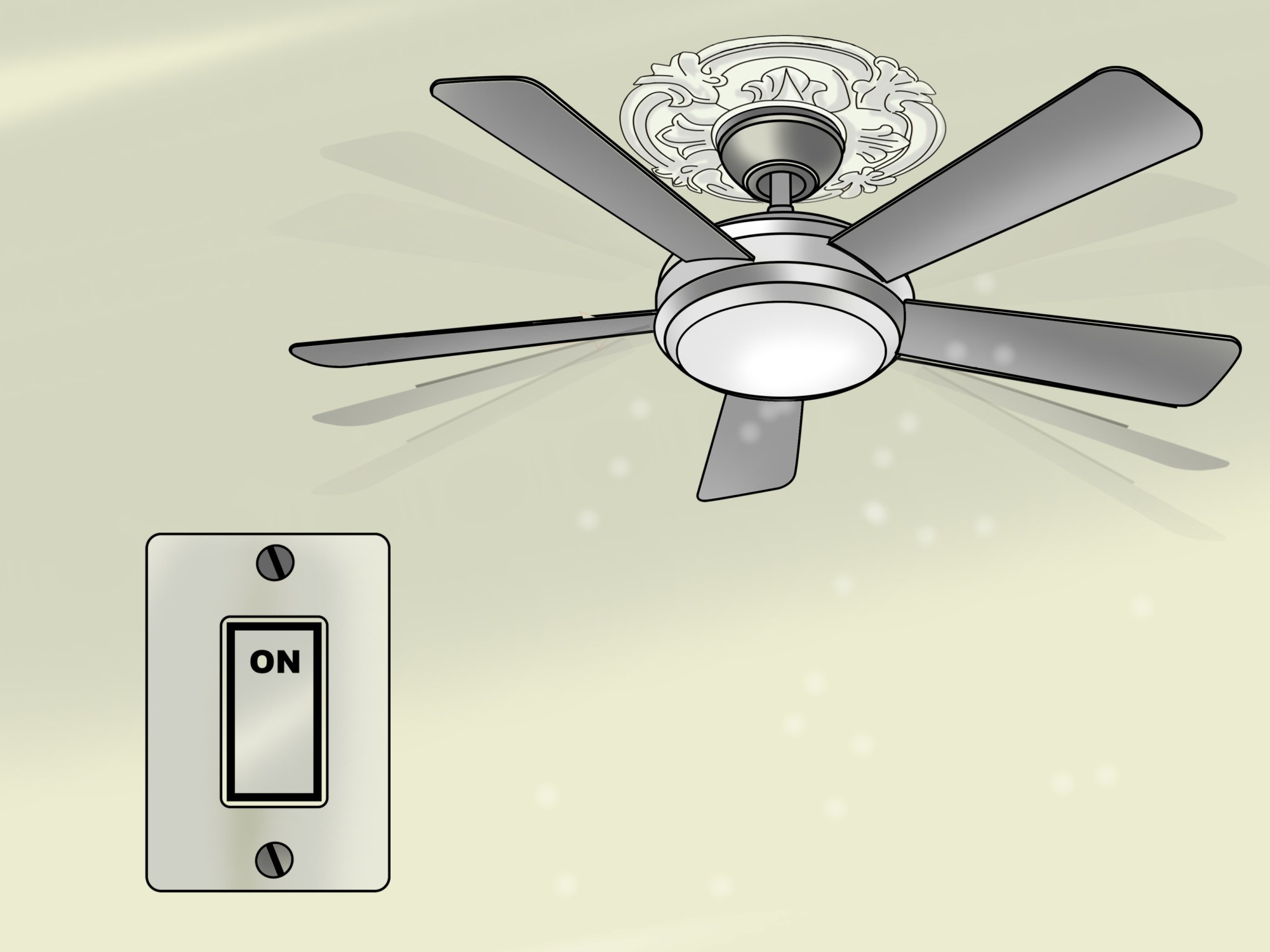 hight resolution of how to replace a ceiling fan