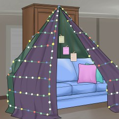 Sofa Sheets Milano Reversible Sectional 3 Ways To Build A Love Fort - Wikihow