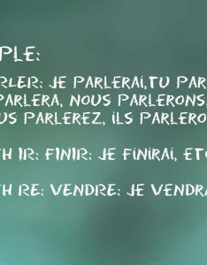 How to conjugate french verbs into future tense also steps rh wikihow