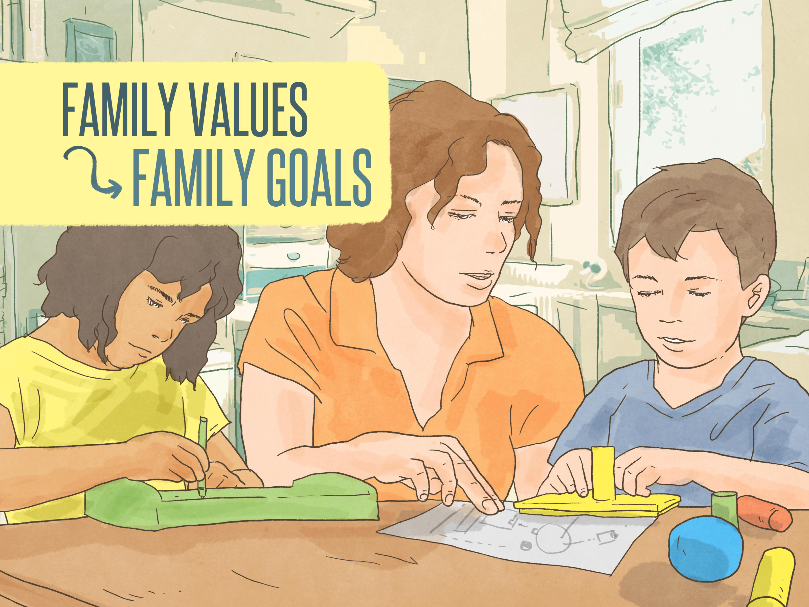 How To Define Your Family Values 13 Steps With Pictures