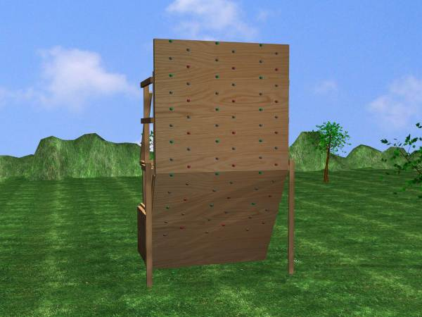 Build Climbing Wall 10 Steps With - Wikihow