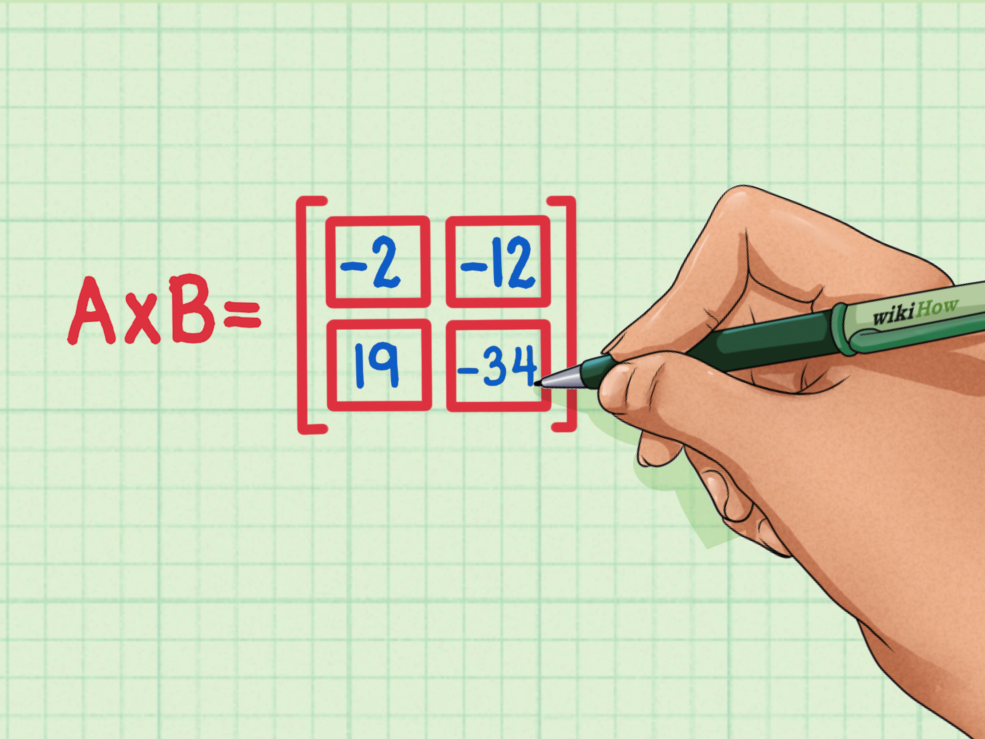 How To Multiply Matrices 6 Steps With Pictures