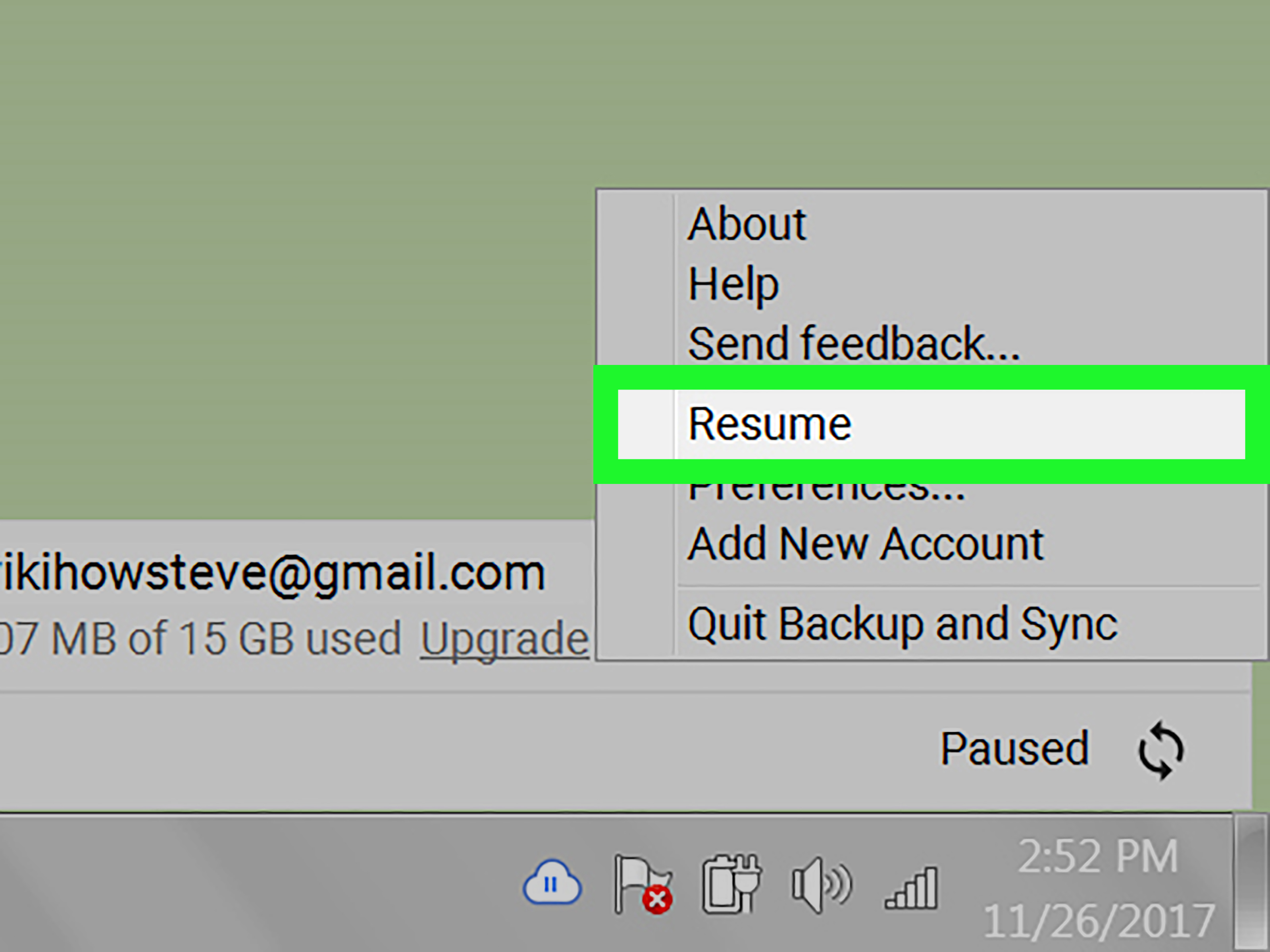 upload resume on google drive