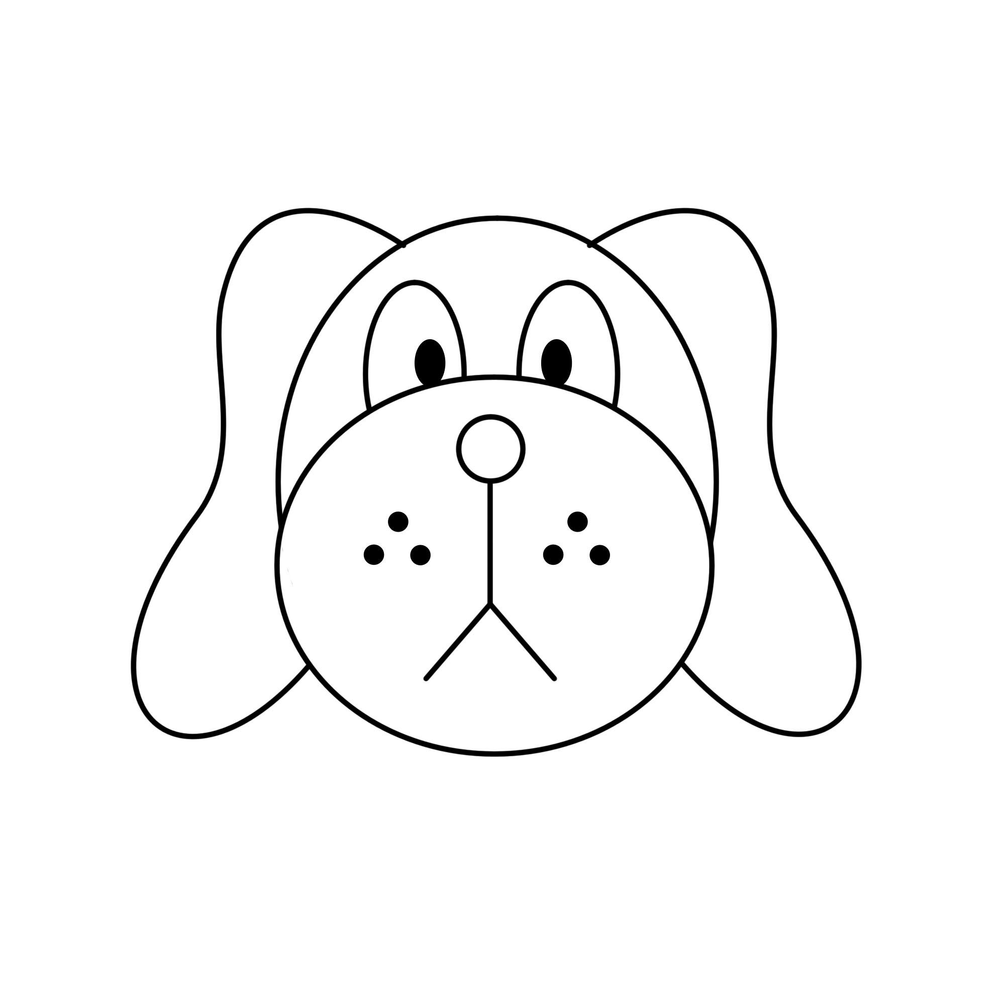 Comment dessiner une tête de chien: 15 étapes