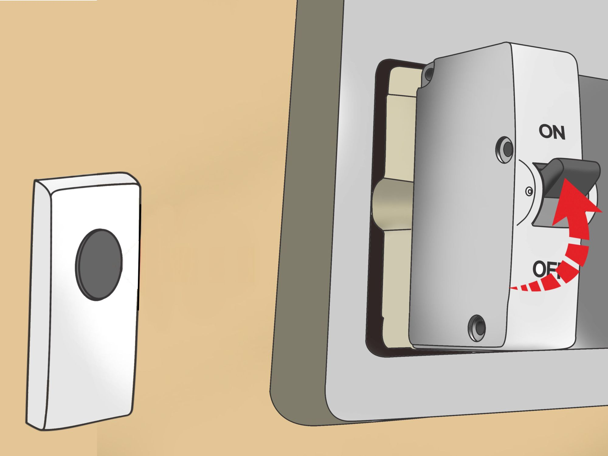 hight resolution of how to install a doorbell