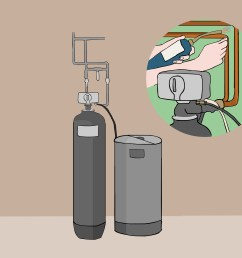 piping diagram for water softener [ 3200 x 2400 Pixel ]