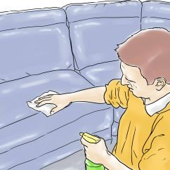 How To Erase Pen Ink From Leather Sofa Sofaer Capital 3 Ways Remove Stains Wikihow