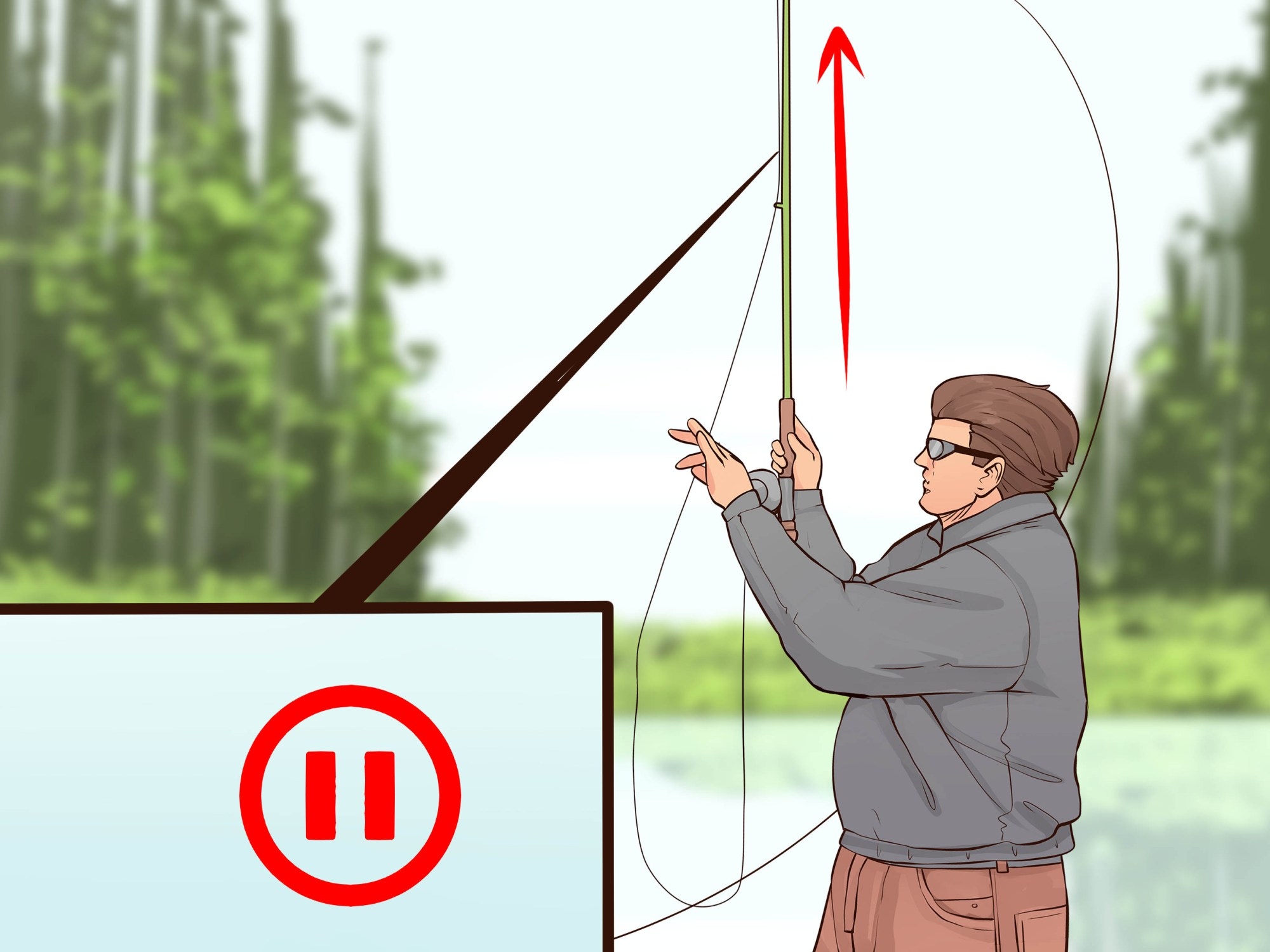 hight resolution of how to cast a fly fishing rod
