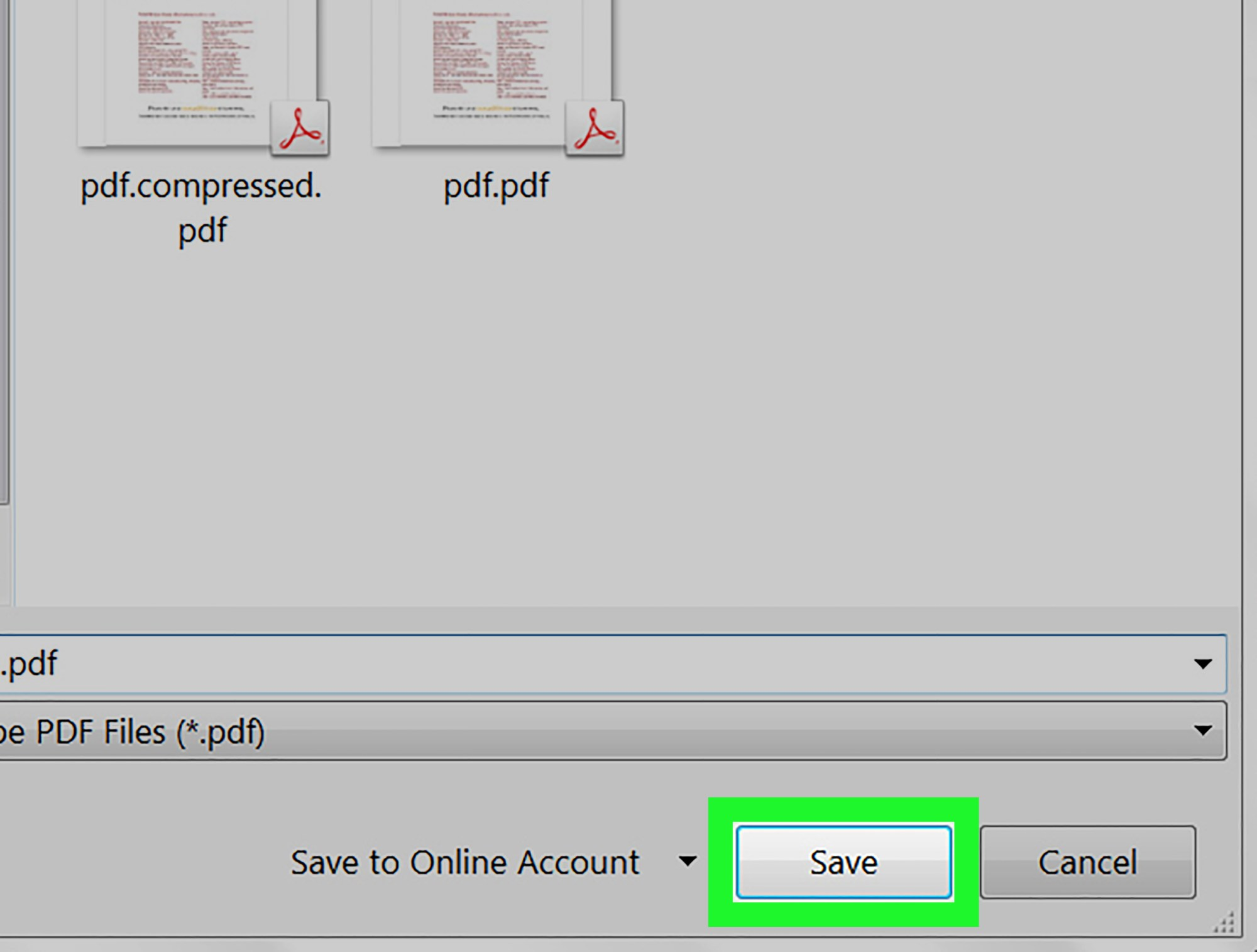 hight resolution of how to compress a pdf file