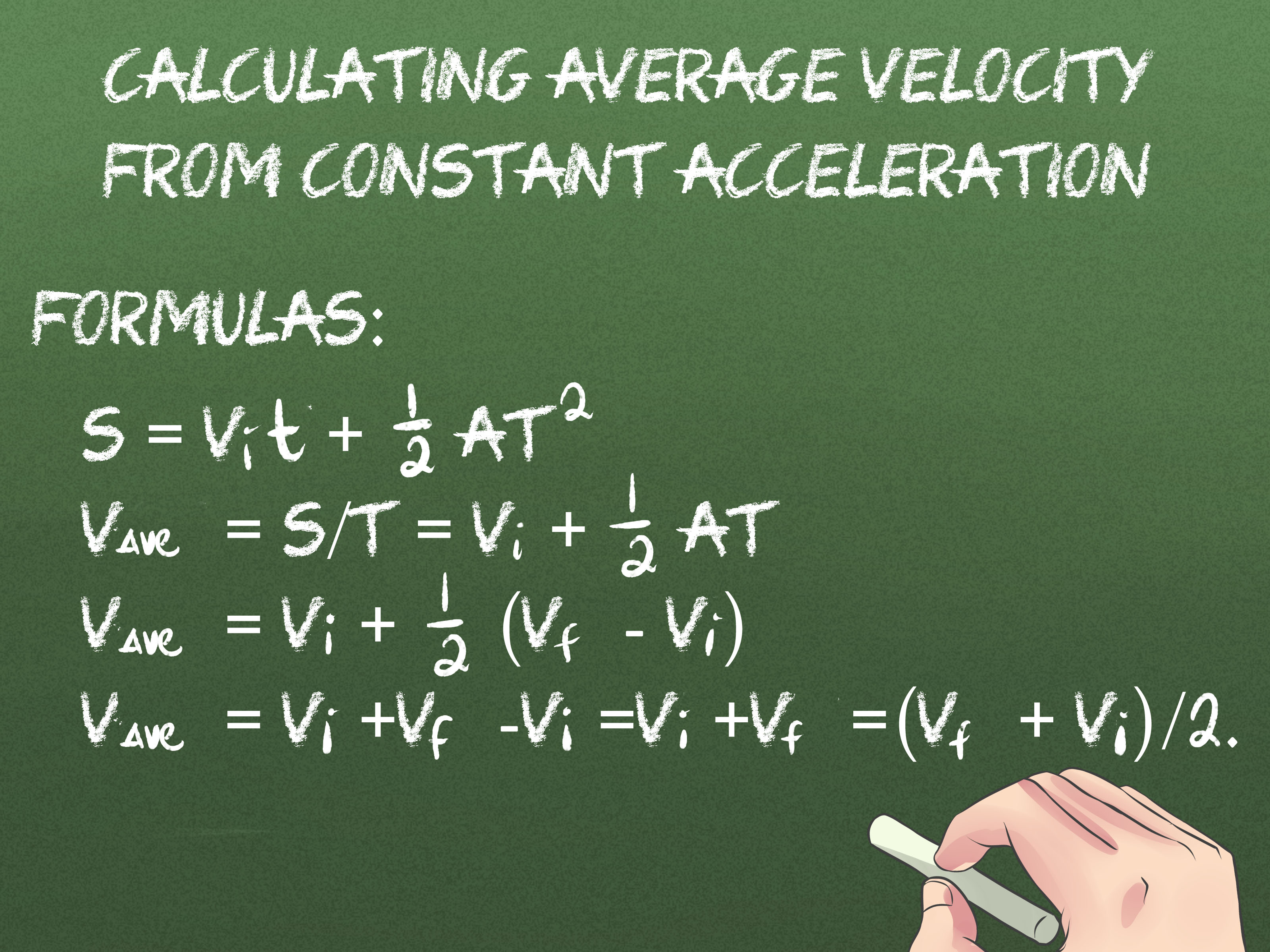 2 Ways To Calculate Average Velocity