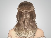 twisted crown hairstyle