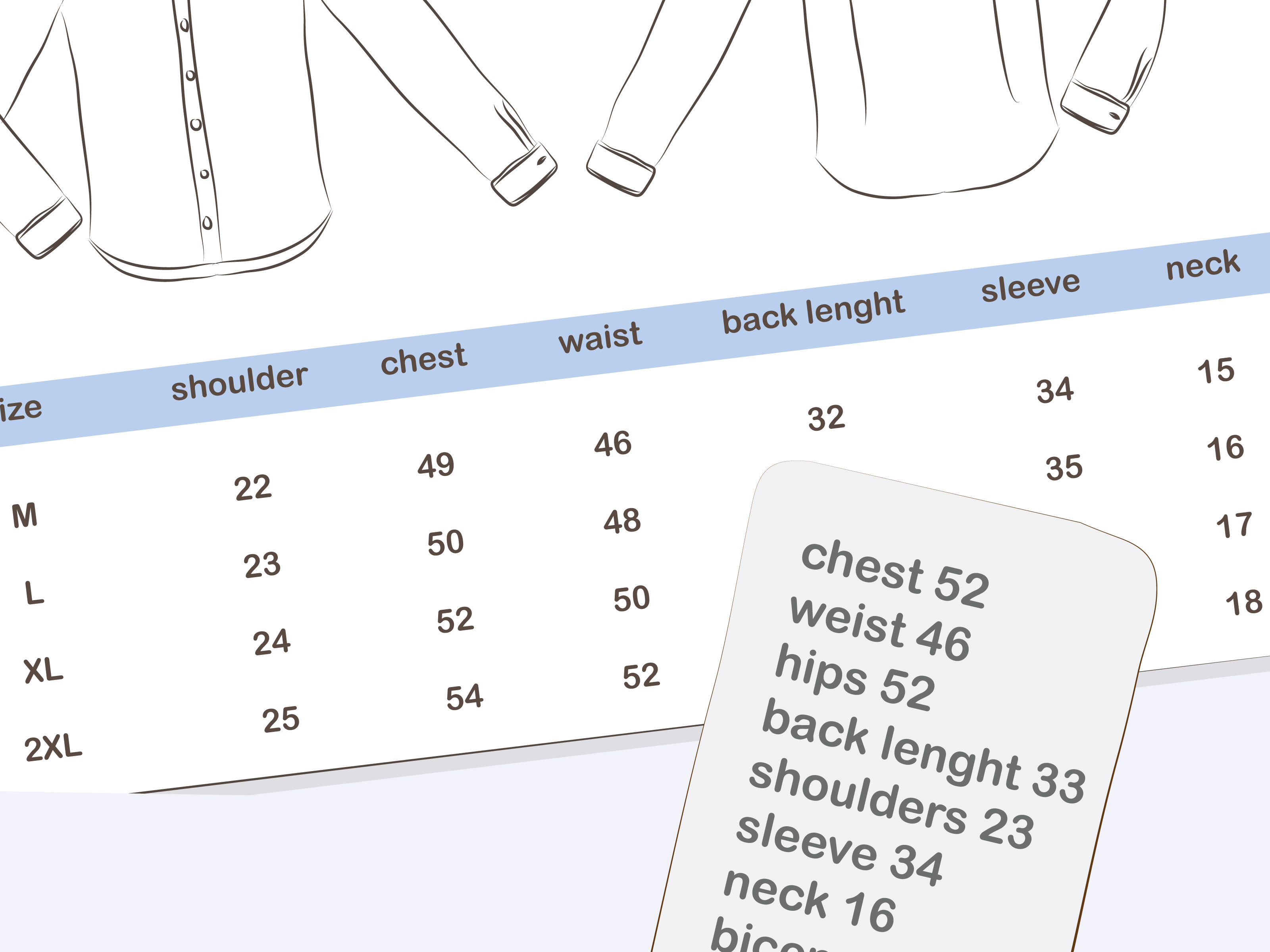 How to Measure Your Shirt Size with Pictures  wikiHow