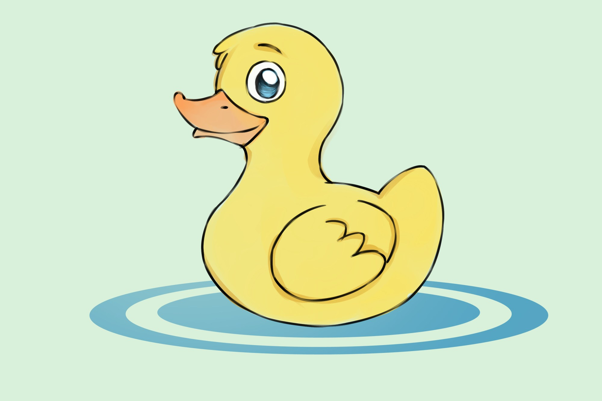 hight resolution of how to draw ducks