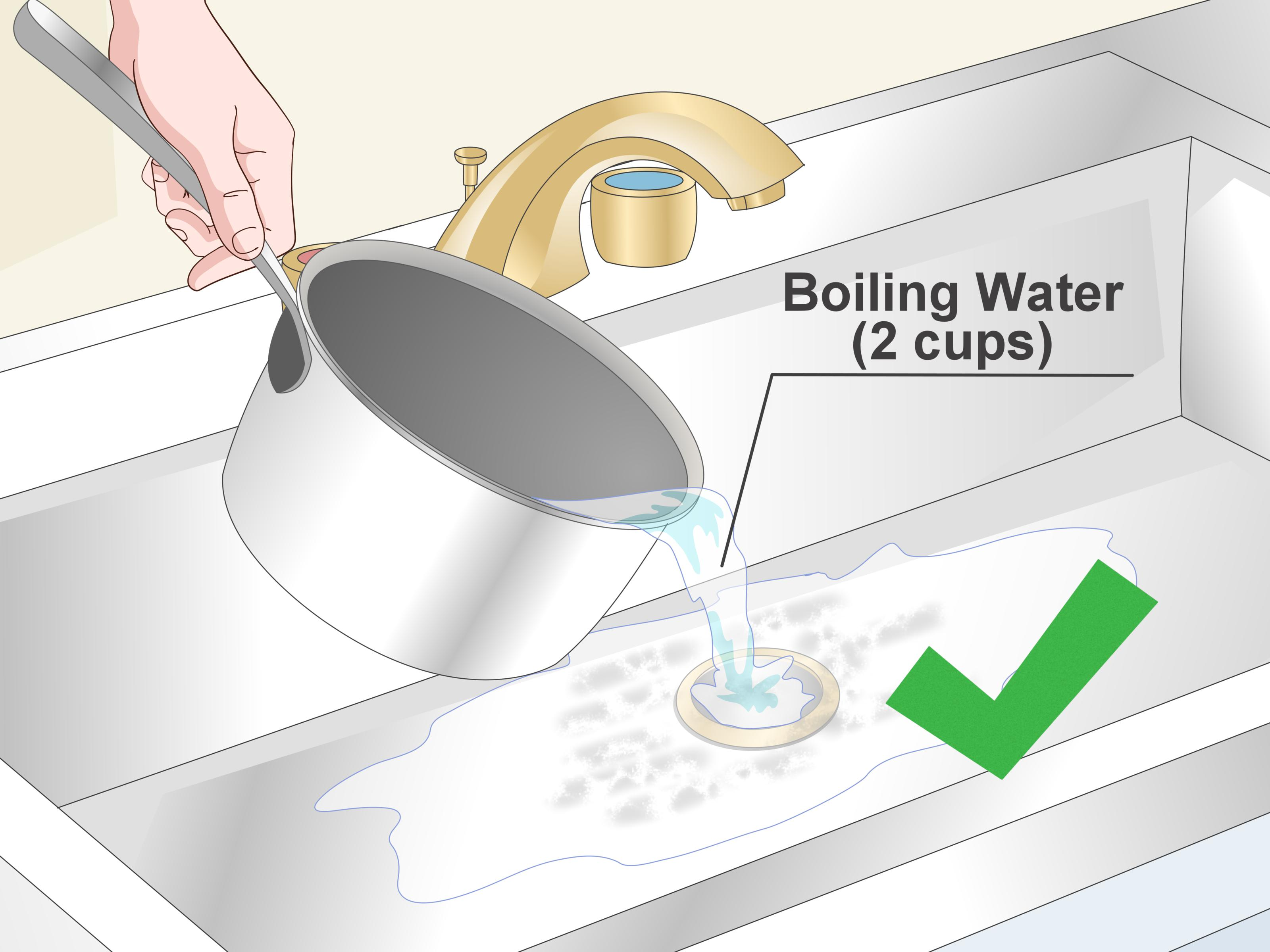 5 ways to clean a drain pipe wikihow