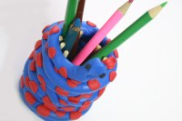 How to Make a Clay Snake Pencil Holder: 13 Steps (with
