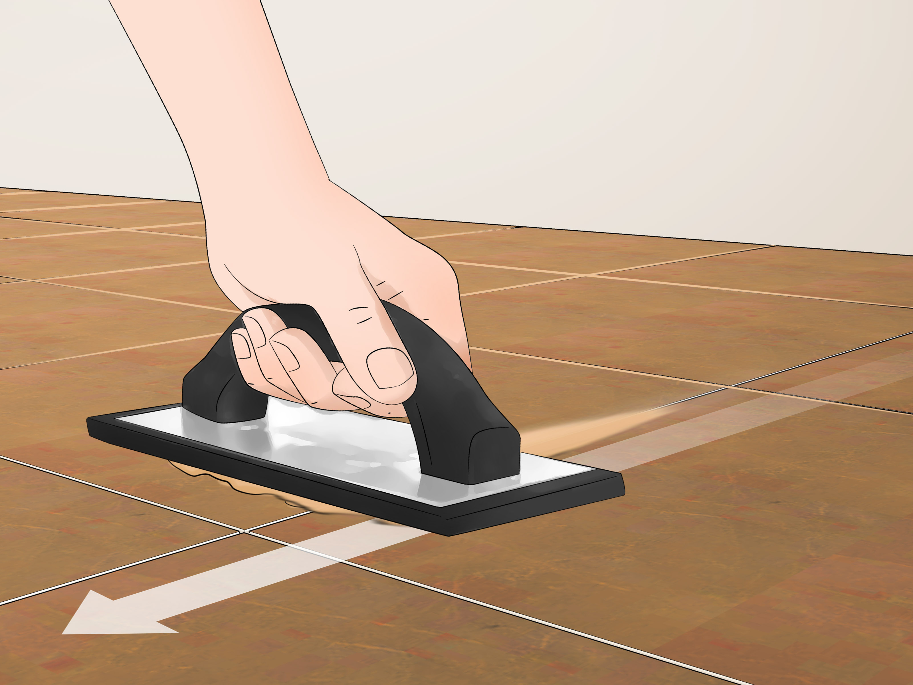 how to grout a tile floor 12 steps