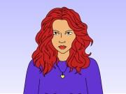 como desenhar cabelos encaracolados