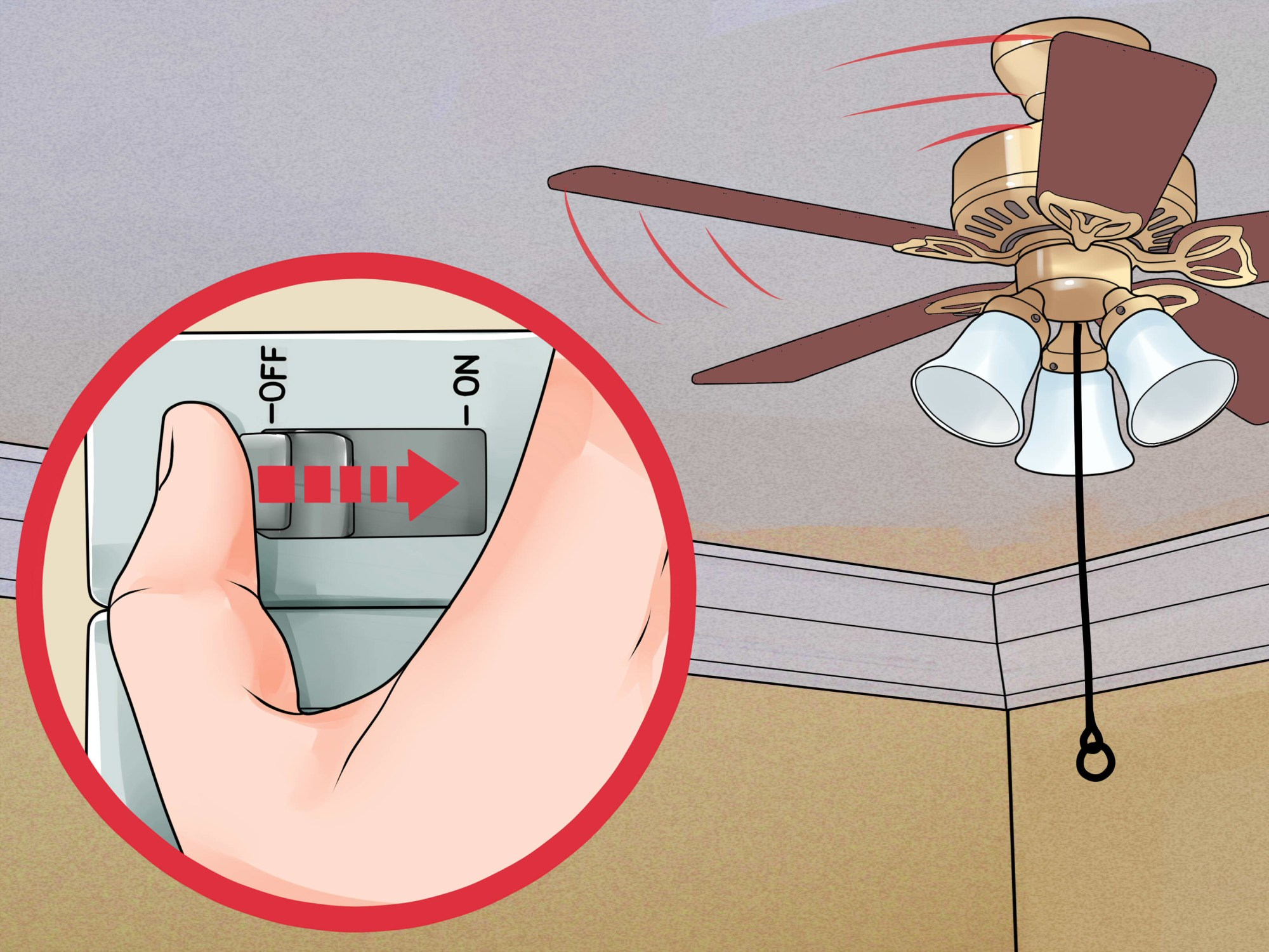 hight resolution of how to install a ceiling fan