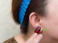 3 Ways to Make Fake Earrings - wikiHow