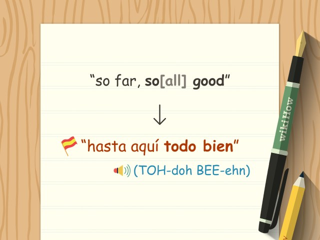 28 Ways to Say Good in Spanish - wikiHow
