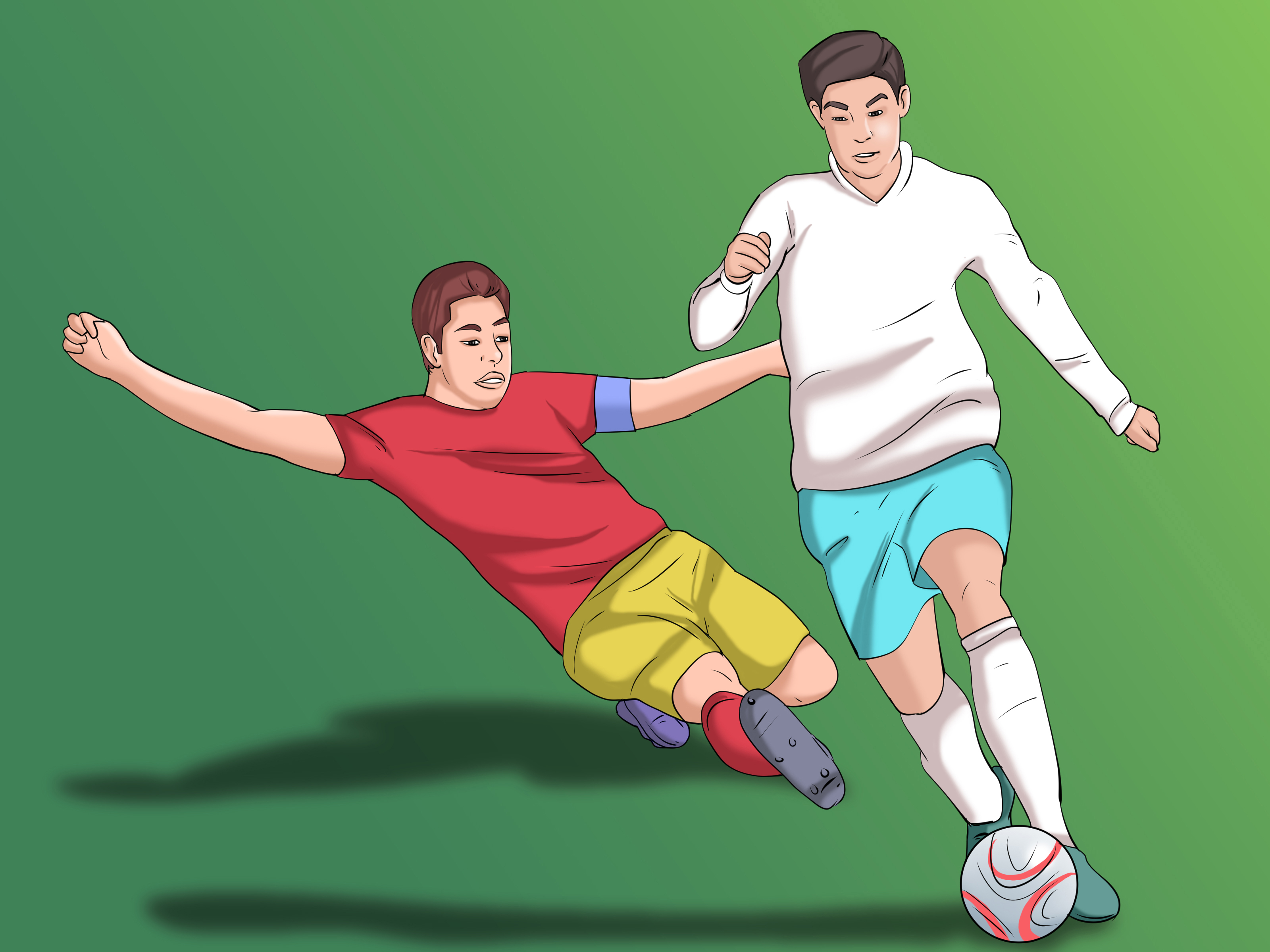 How to Slide Tackle in Football/Soccer: 6 Steps (with ...