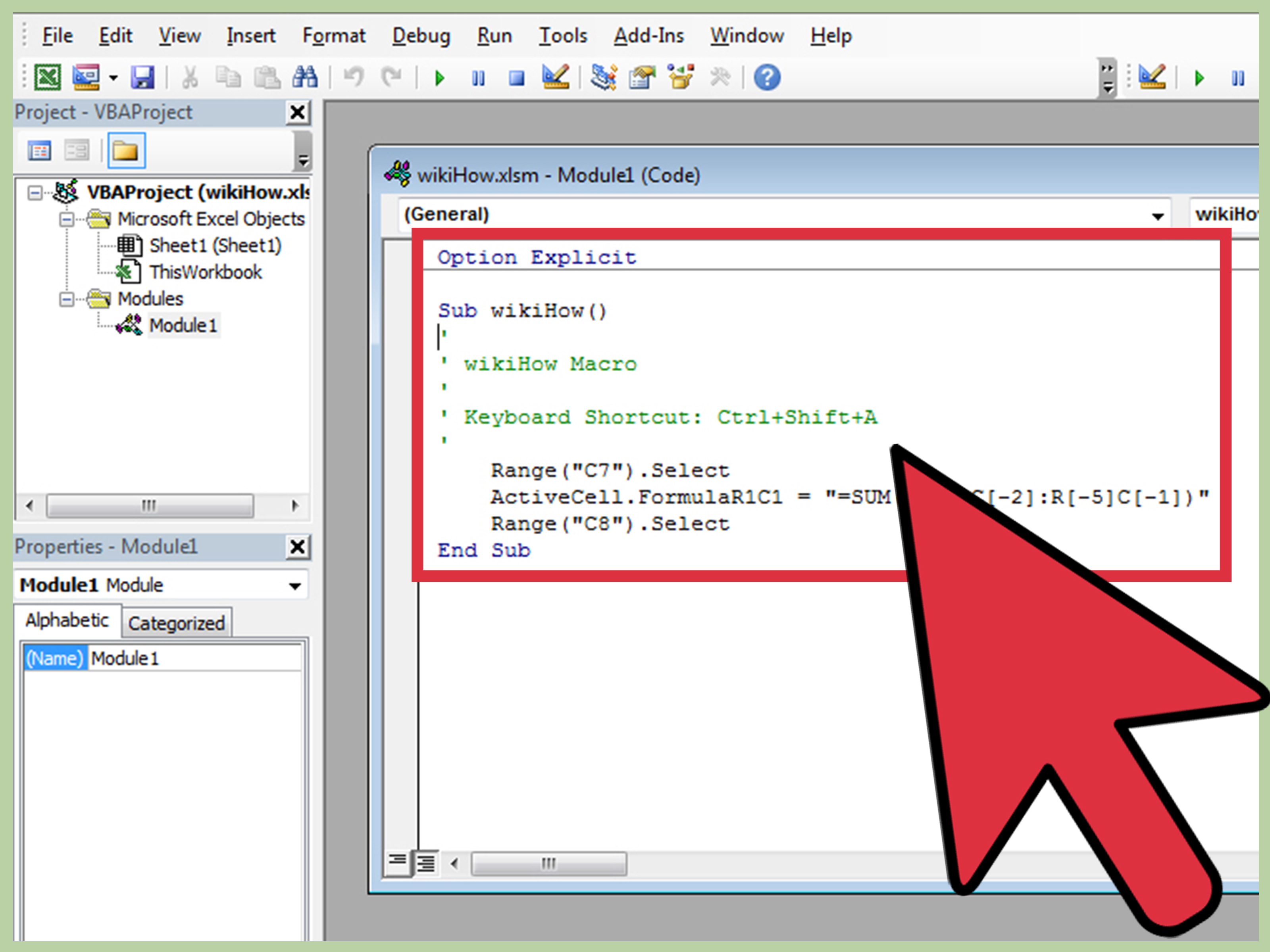 How To Write A Simple Macro In Microsoft Excel With Pictures
