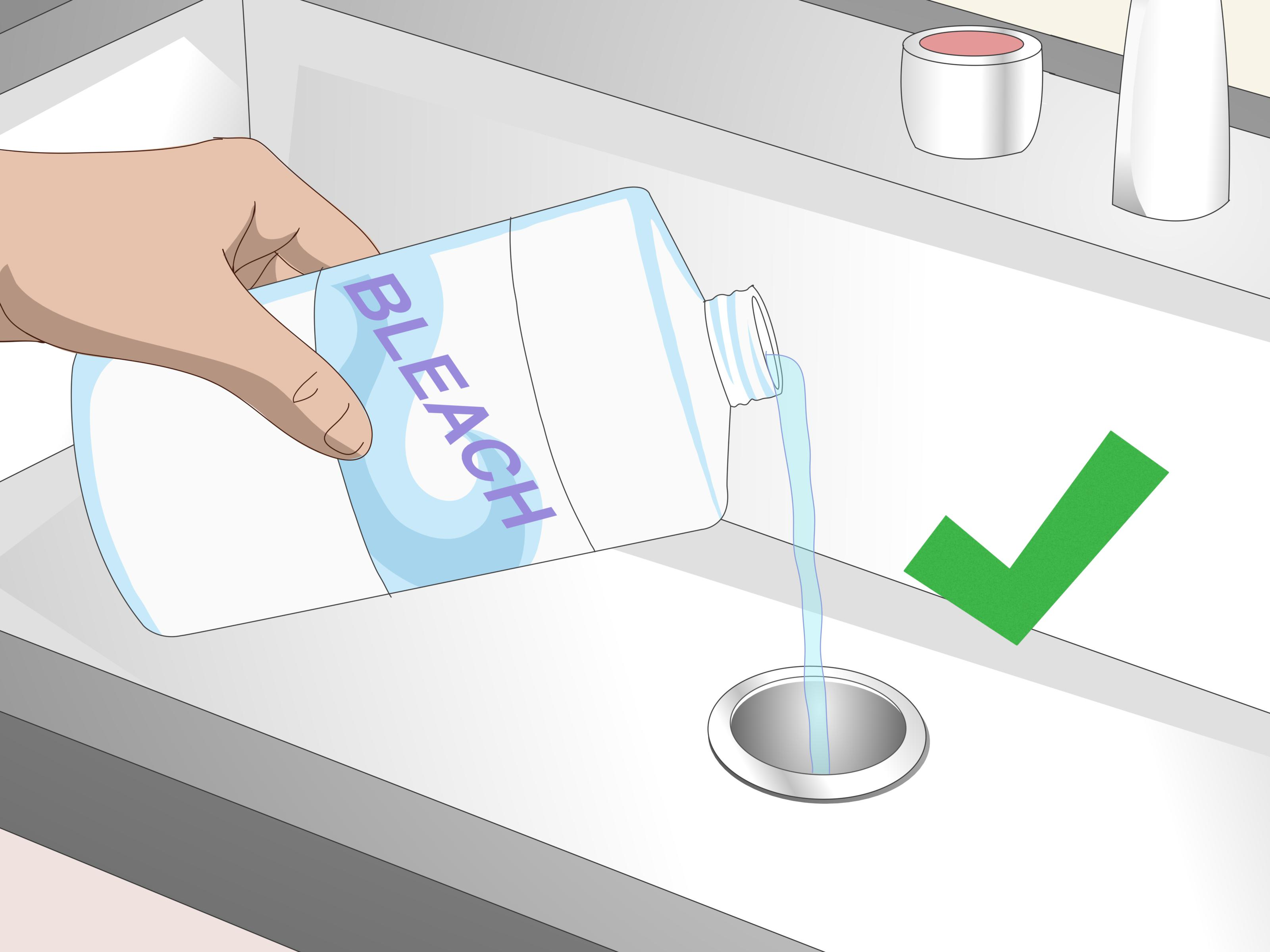 3 ways to clean a sink drain wikihow