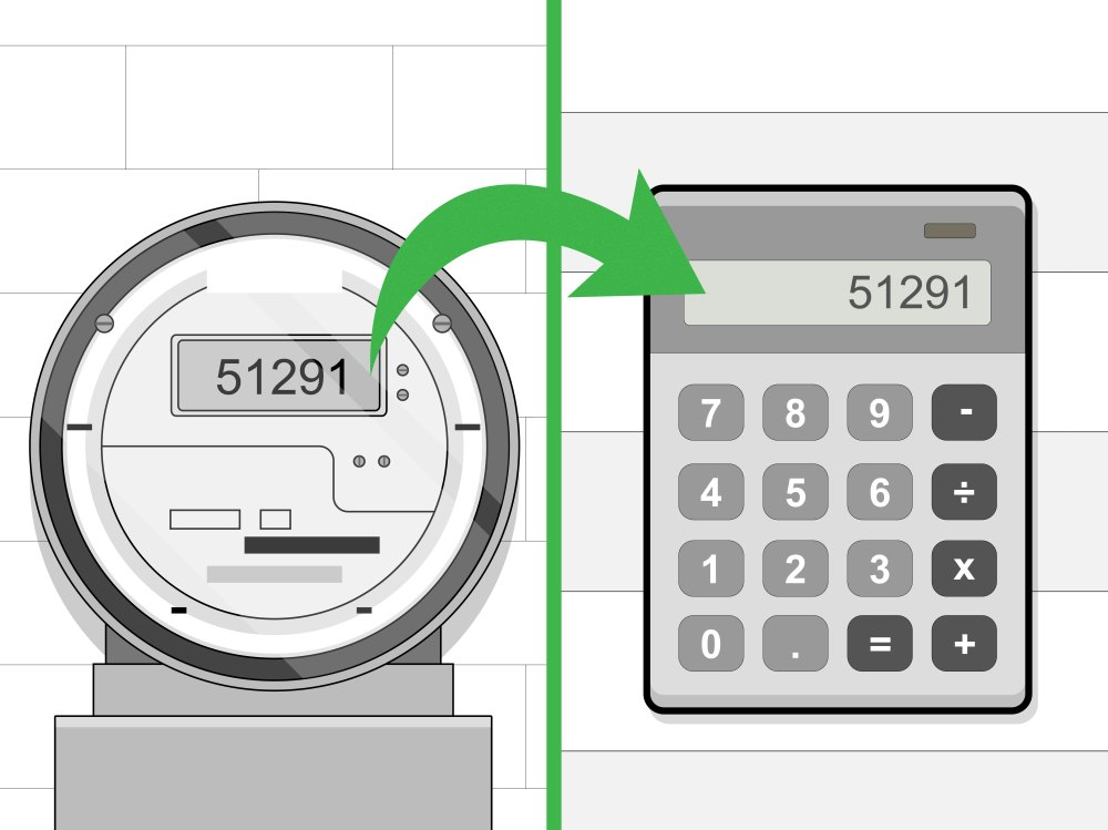 medium resolution of how to read an electric meter