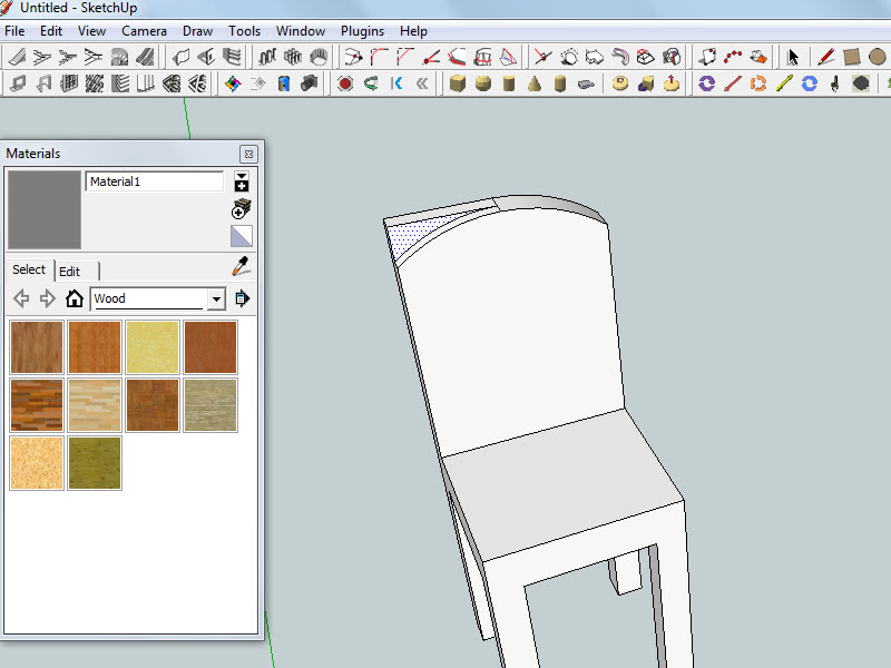 chair design sketchup home chairs back problems how to use the subtractive method create a in