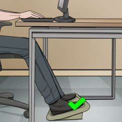 Chair Stand Up Trick Armless Ghost 3 Ways To Adjust Office Height Wikihow How