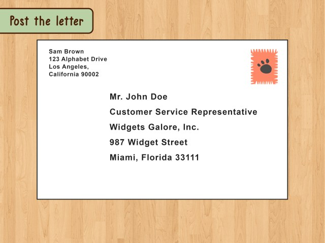 How to Write a Business Letter (with Pictures) - wikiHow