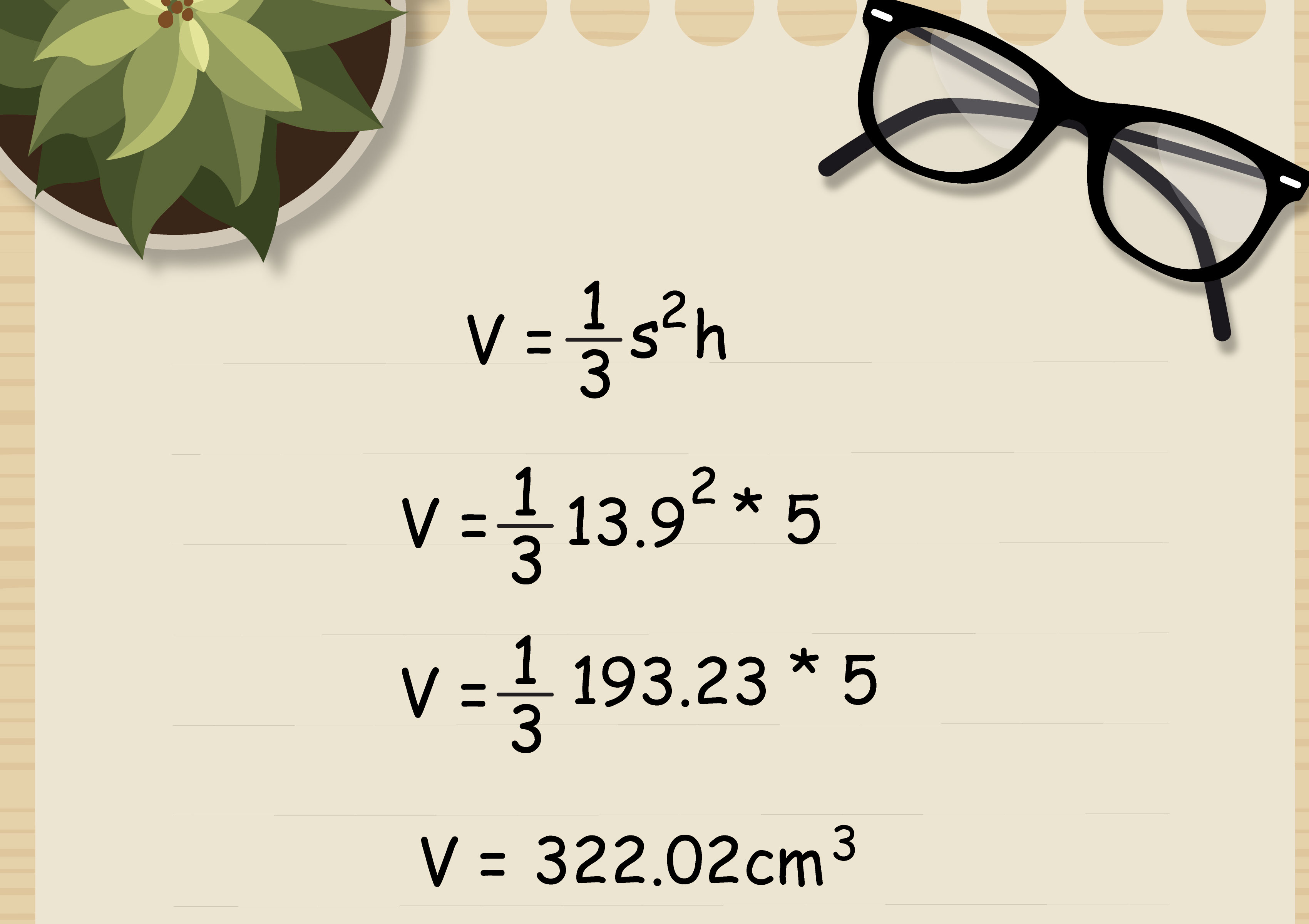 3 Formas De Calcular El Volumen De Una Piramide Cuadrangular