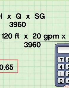 How to calculate water pump horsepower also steps with pictures rh wikihow