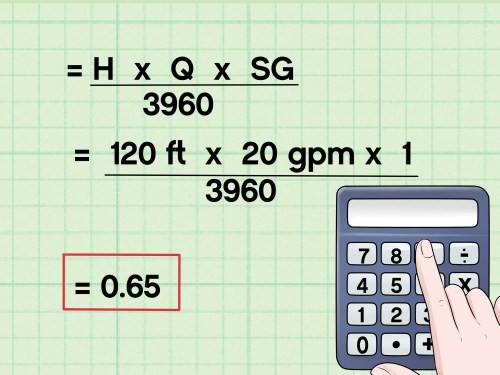 small resolution of how to calculate water pump horsepower