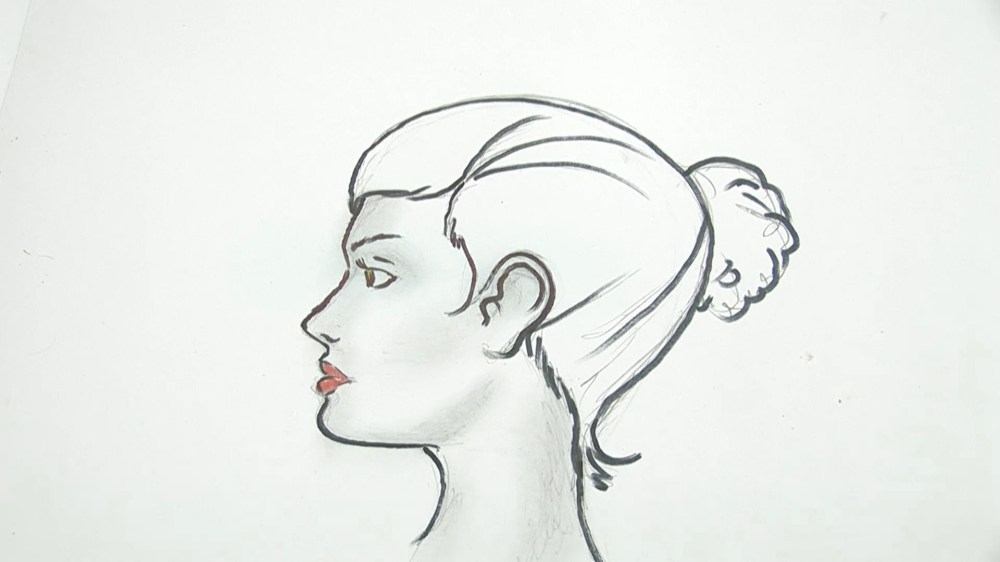 medium resolution of how to draw a human head