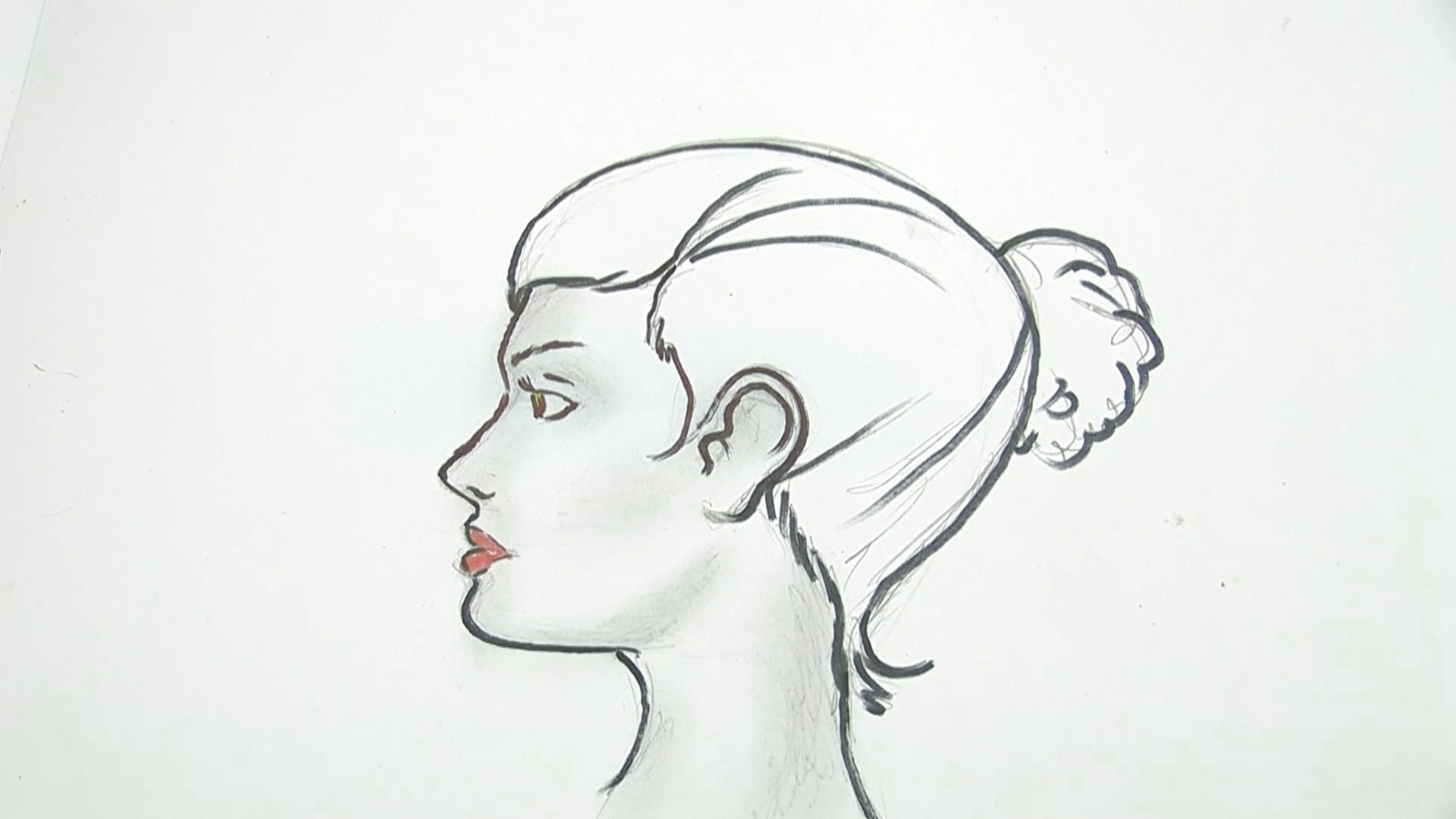 hight resolution of how to draw a human head
