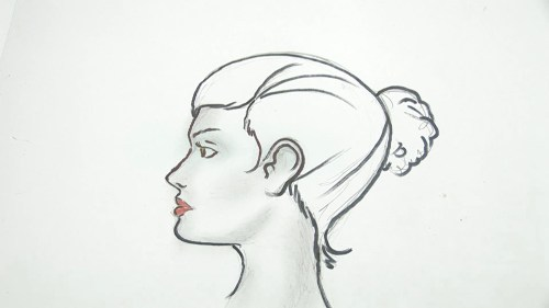 small resolution of how to draw a human head