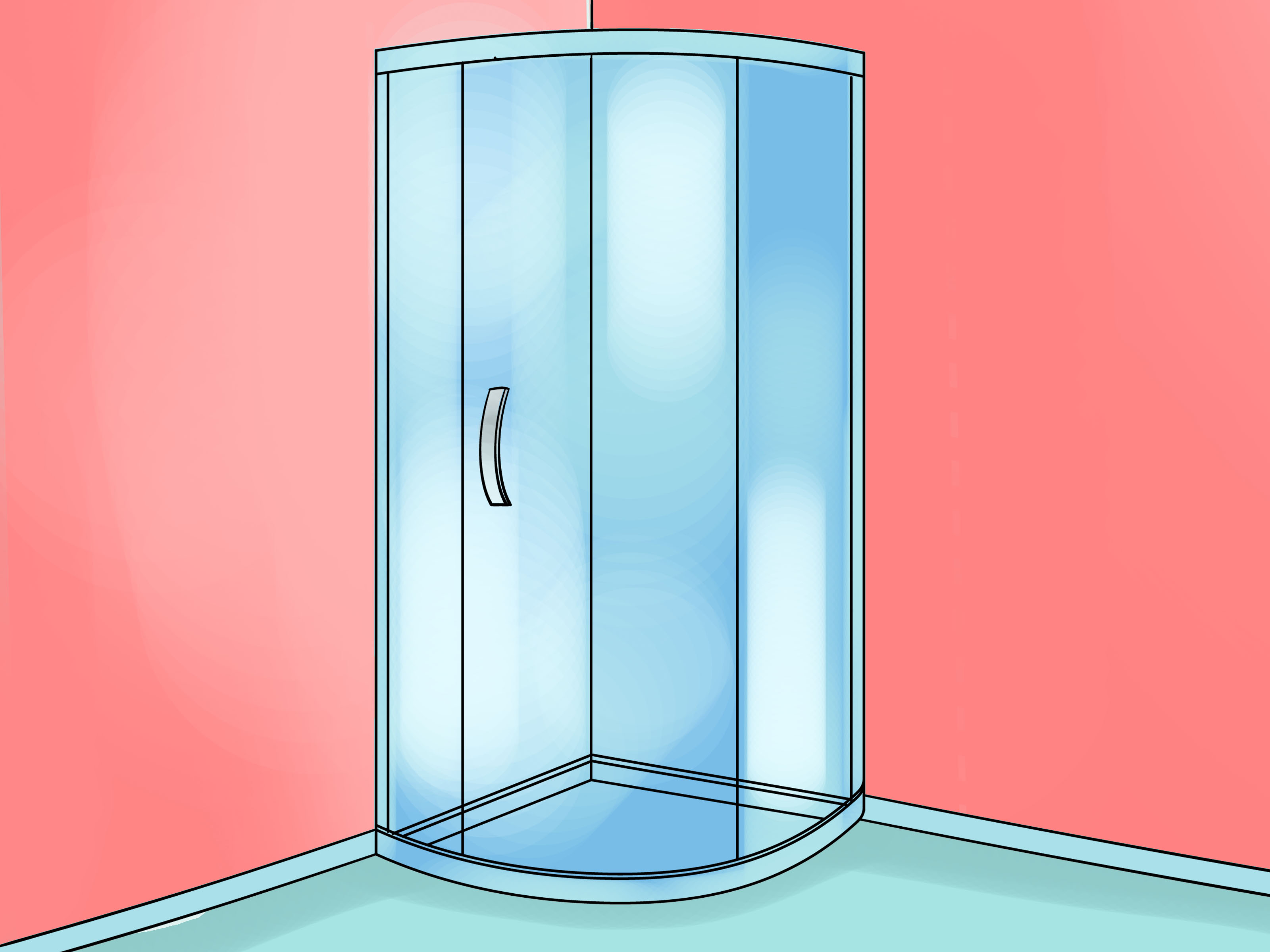 How To Install A Shower Stall 10 Steps With Pictures