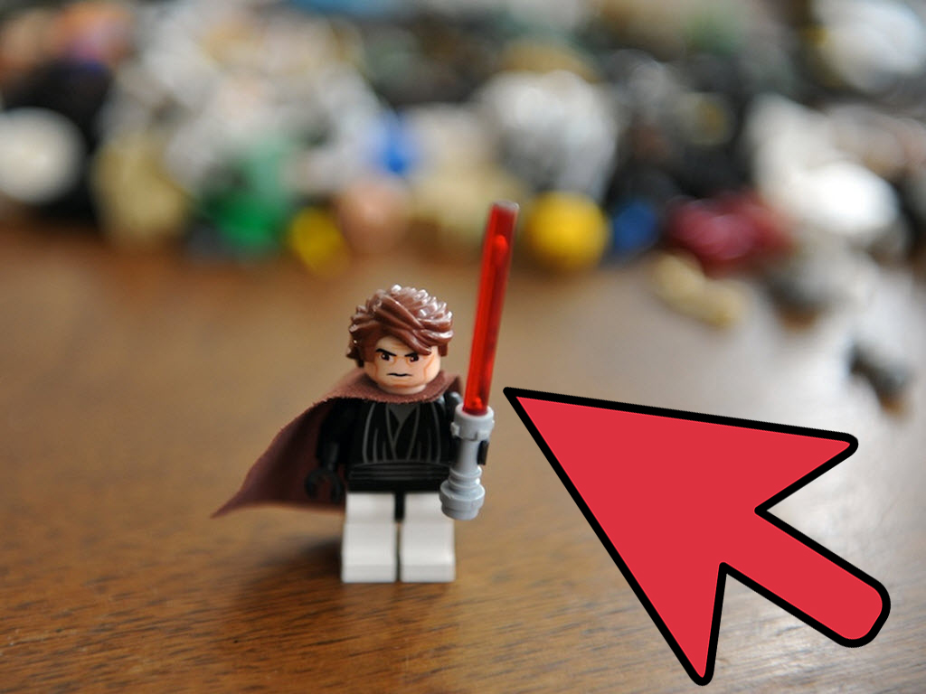 How To Make A Lego Star Wars Jedi Padawan 6 Steps With Pictures