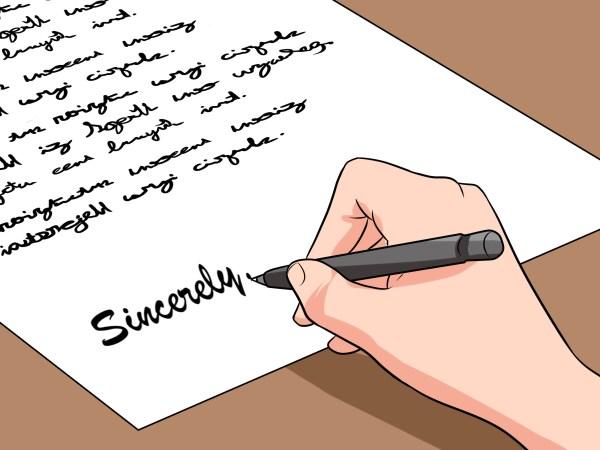 job hiring letter format