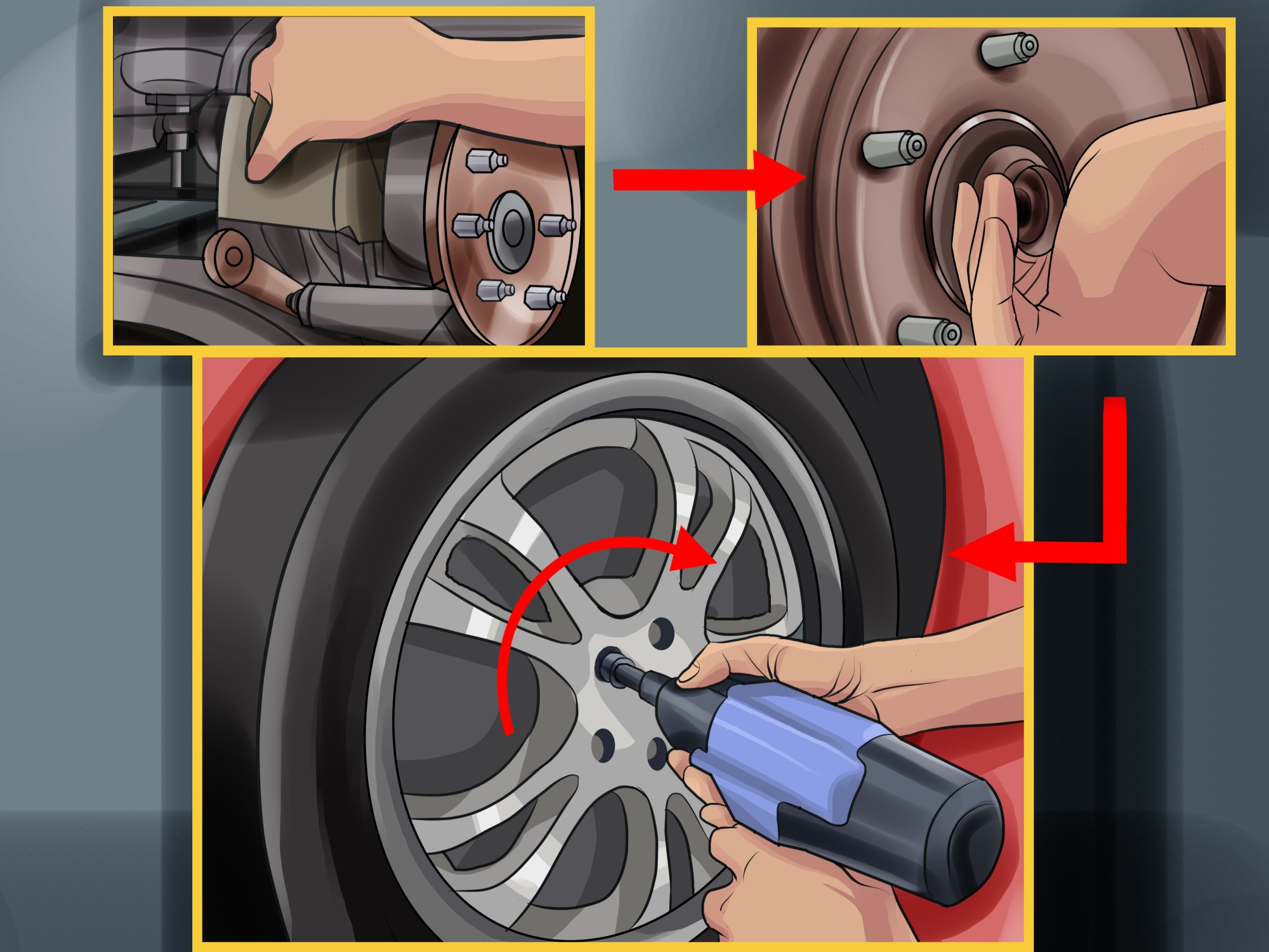 hight resolution of how to change wheel bearings