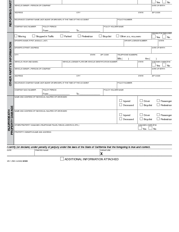 car accident report template examples - April.onthemarch.co