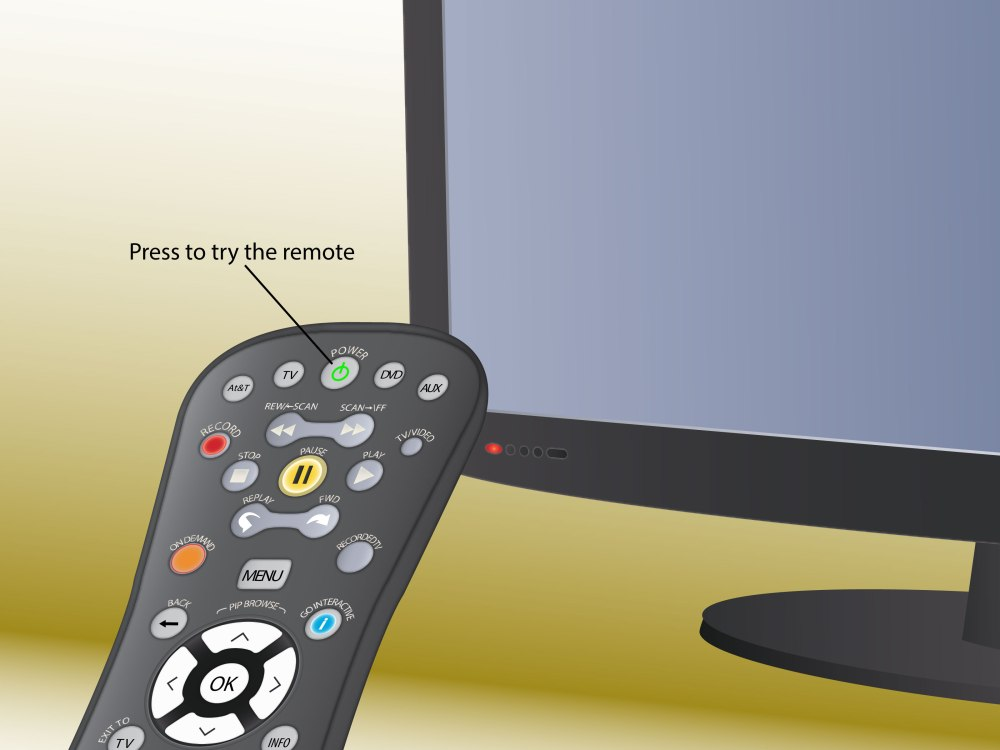 medium resolution of how to program an at t uverse remote control
