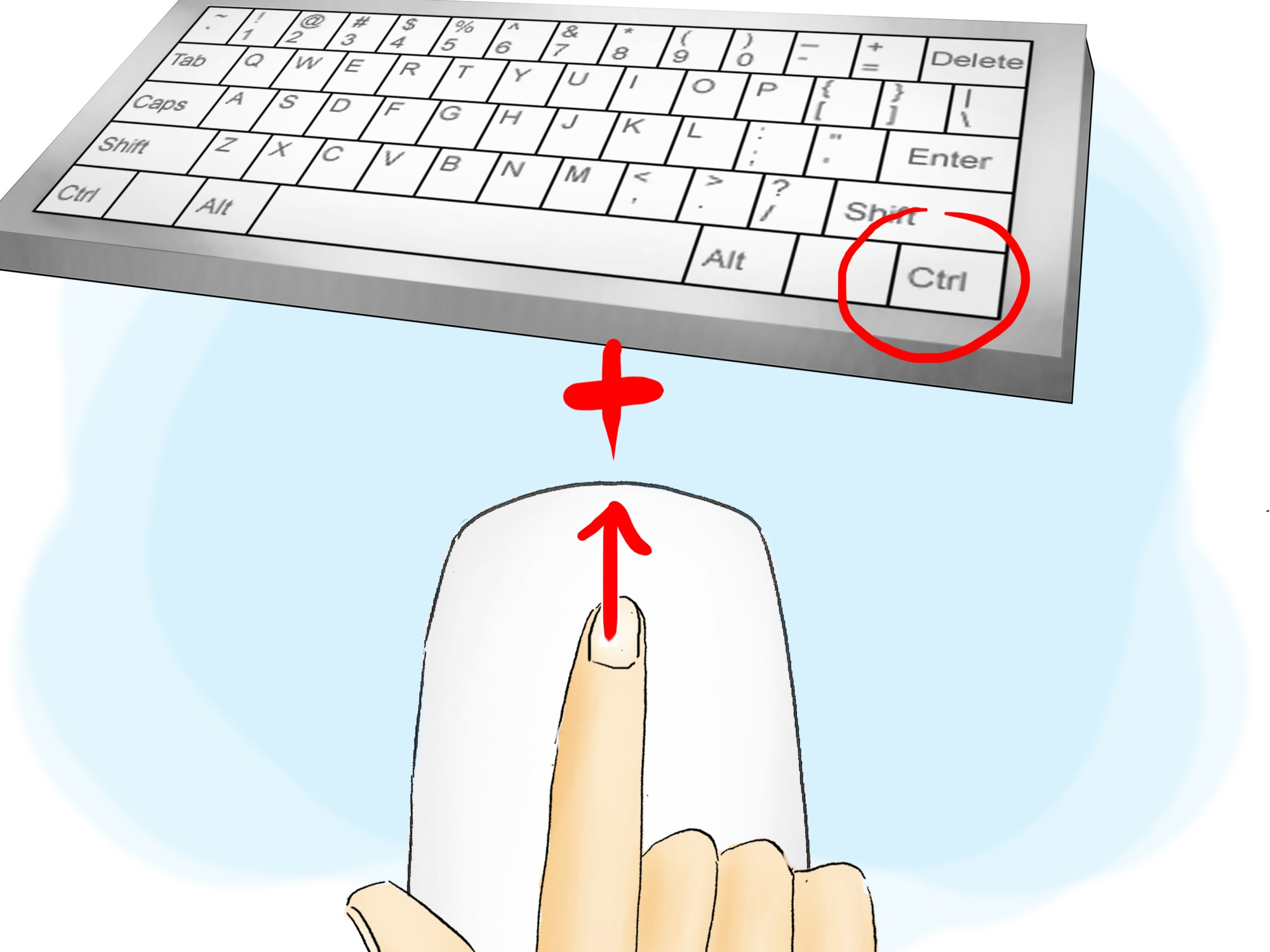 hight resolution of how to use a computer mouse