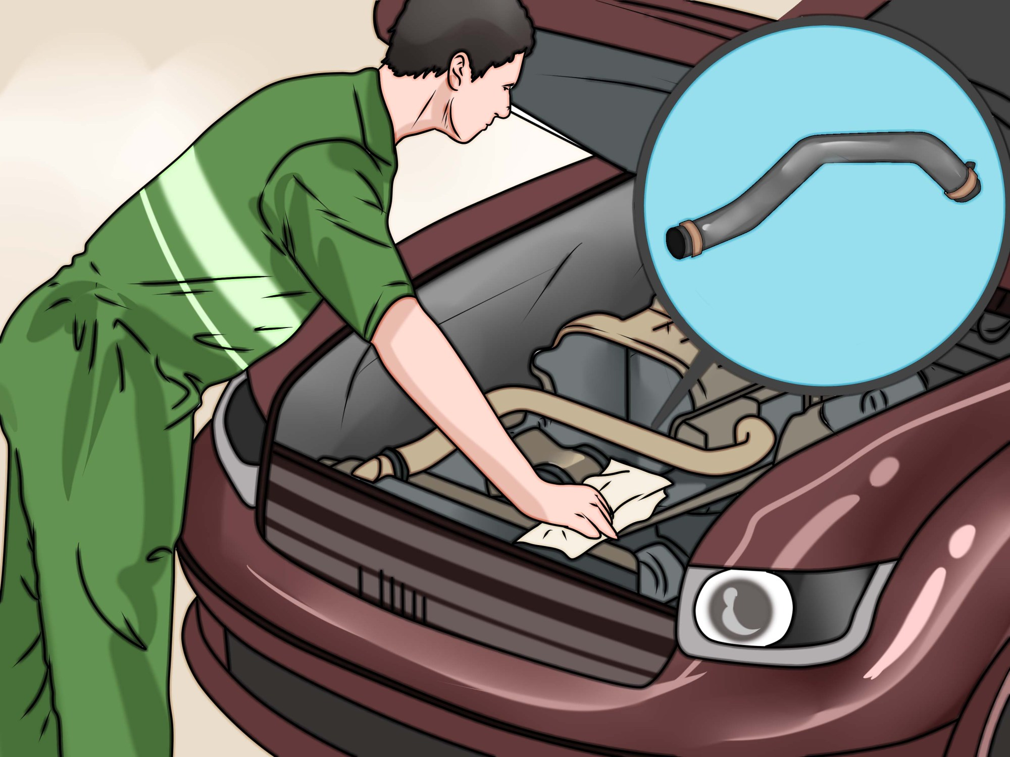 hight resolution of how to prevent a car fire