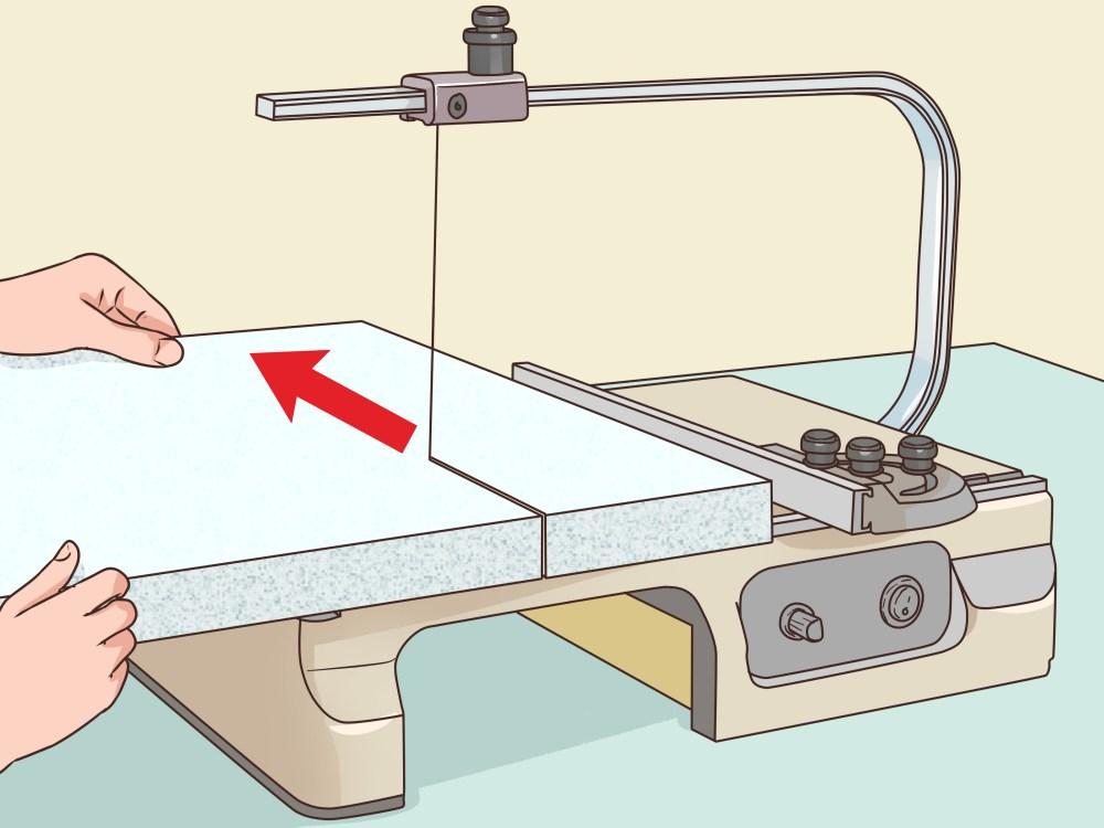 medium resolution of how to cut foam board